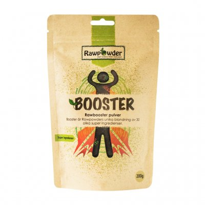rawbooster 30 olika super ingredienser